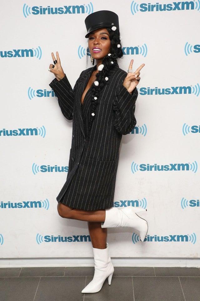 Janelle Monae at the SiriusXM Studios
