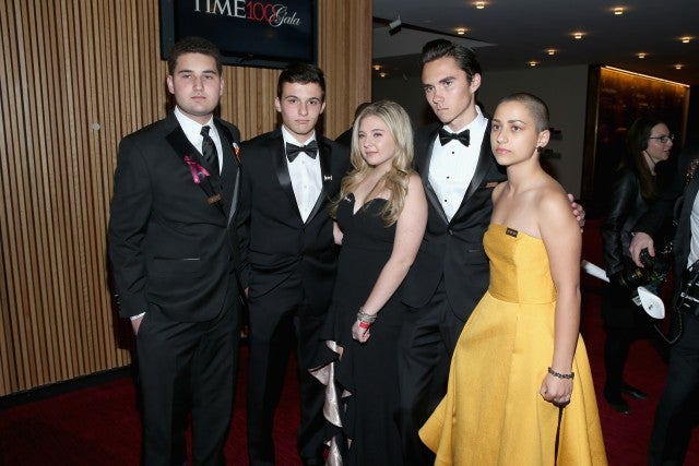 Parkland survivors at Time 100 Gala