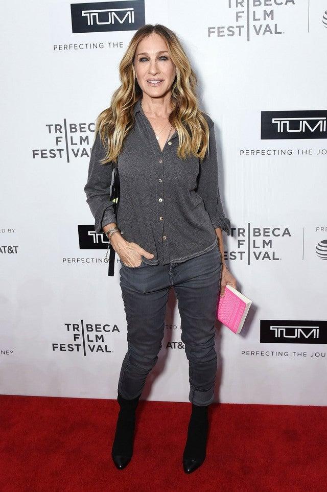 Sarah Jessica Parker at Tribeca film Festival