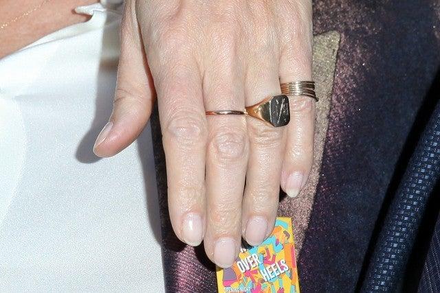 Gwyneth Paltrow Wears Fiance Brad Falchuk's Initials on Her Ring