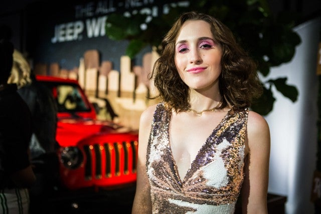 Harley Quinn Smith at Rolling Stone event
