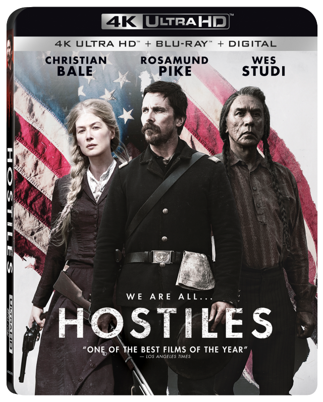 Hostiles 4K Artwork