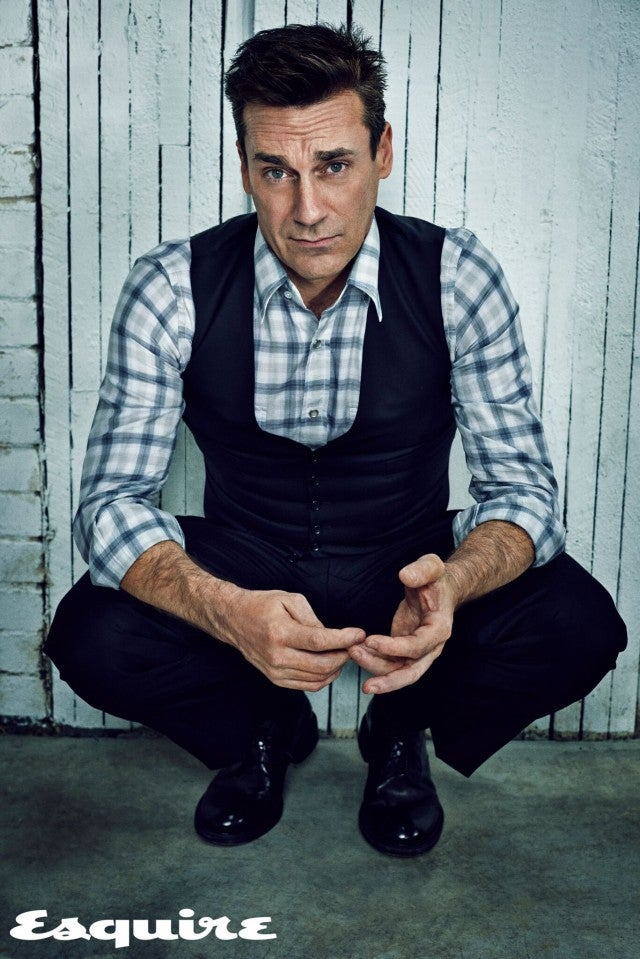 Jon Hamm from Esquire