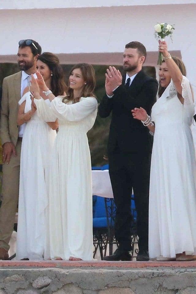 Justin Timberlake And Jessica Biel Celebrate Her Brother S