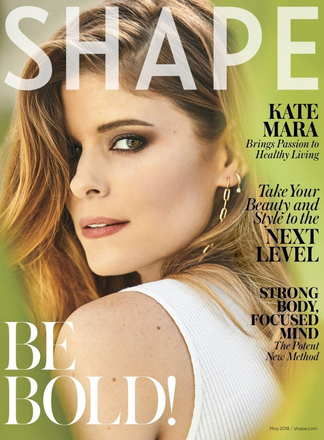 Kate Mara on the cover of Shape magazine, May 2018