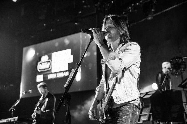 Keith Urban at iheartradio release party