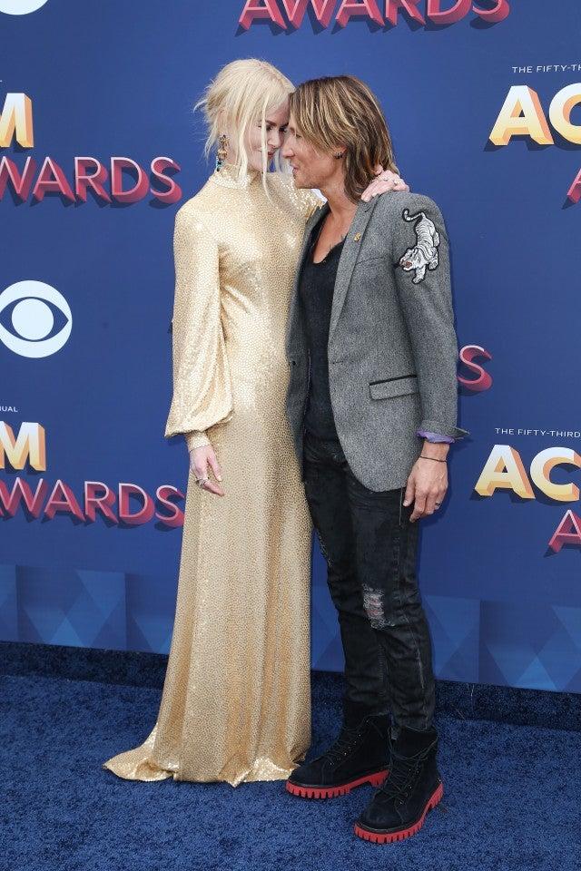 Nicole Kidman and Keith Urban ACM Awards 2018