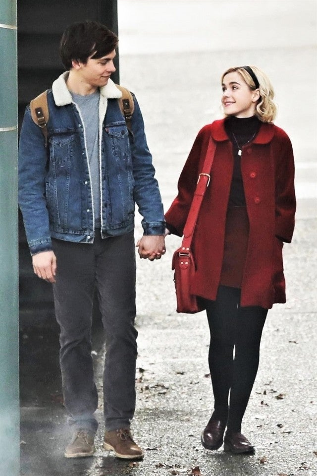 Ross Lynch and Kiernan Shipka