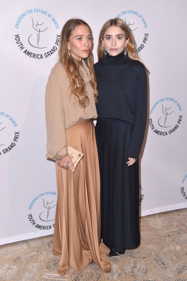 Mary-Kate and Ashley Olsen at Youth America Grand Prix