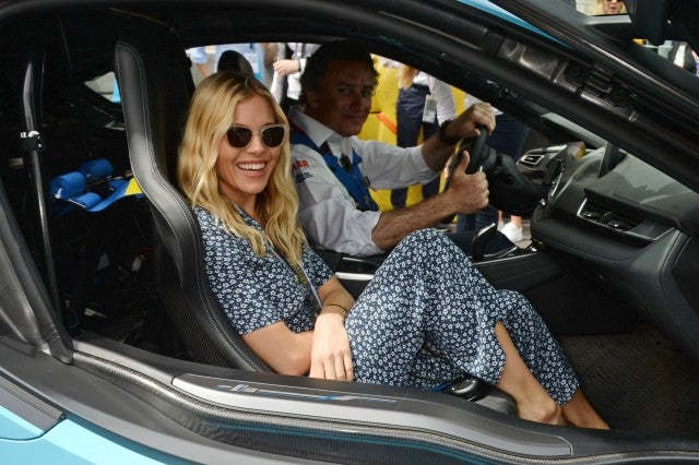 Sienna Miller and e-prix