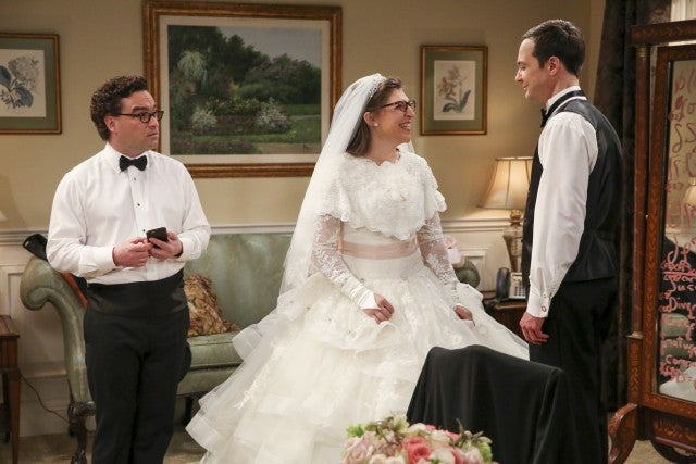Sister Bernadette's Wedding Dress