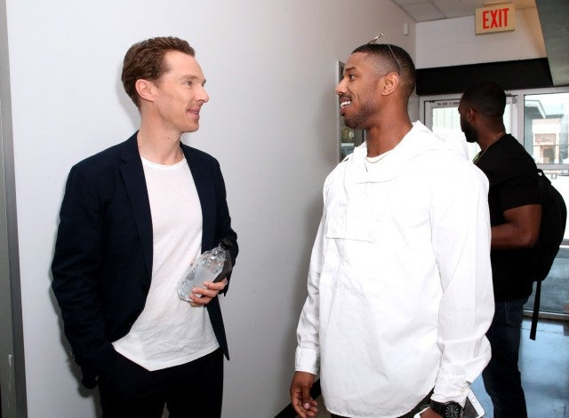 Benedict Cumberbatch and Michael B. Jordan