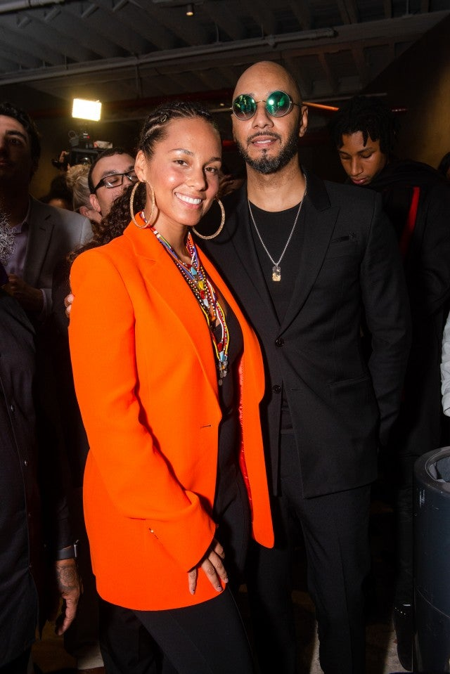Alicia Keys & Swizz Beatz at Amref gala