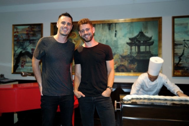 Ben Higgins and Nick Viall in vegas