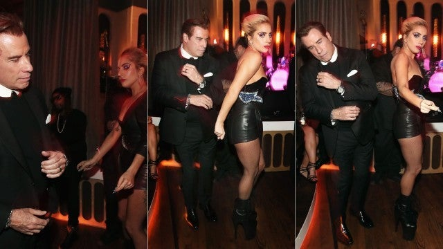 Lady Gaga and John Travolta