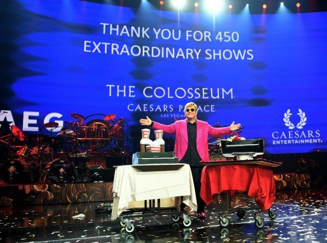 Elton John last residency performance