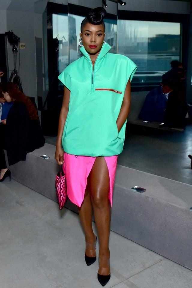 Gabrielle  Union Prada Show