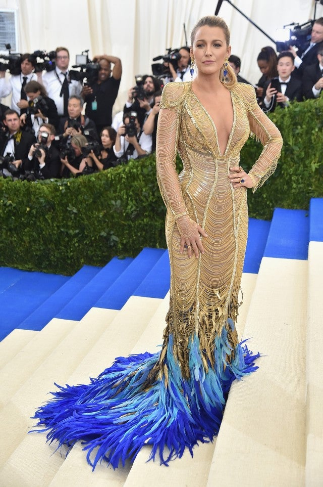 Blake Lively at Met Gala 2017