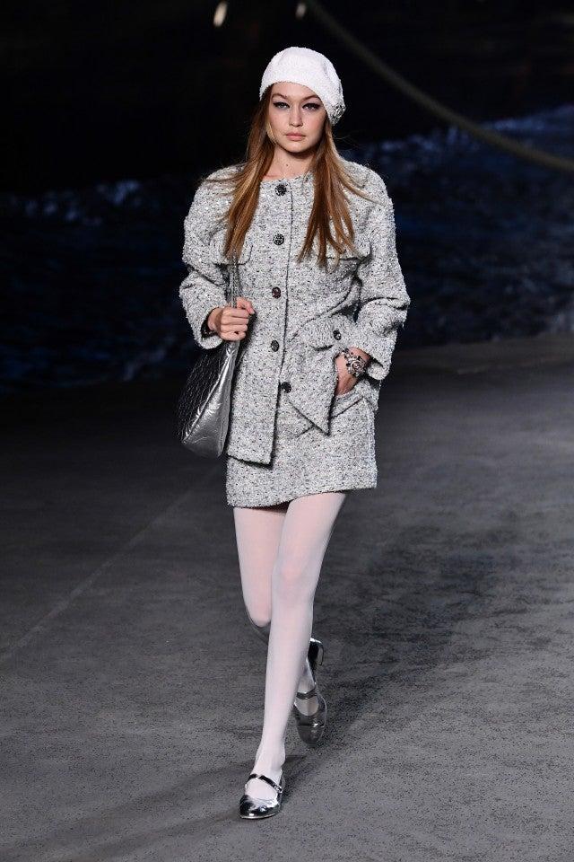 Gigi Hadid at Chanel in Paris