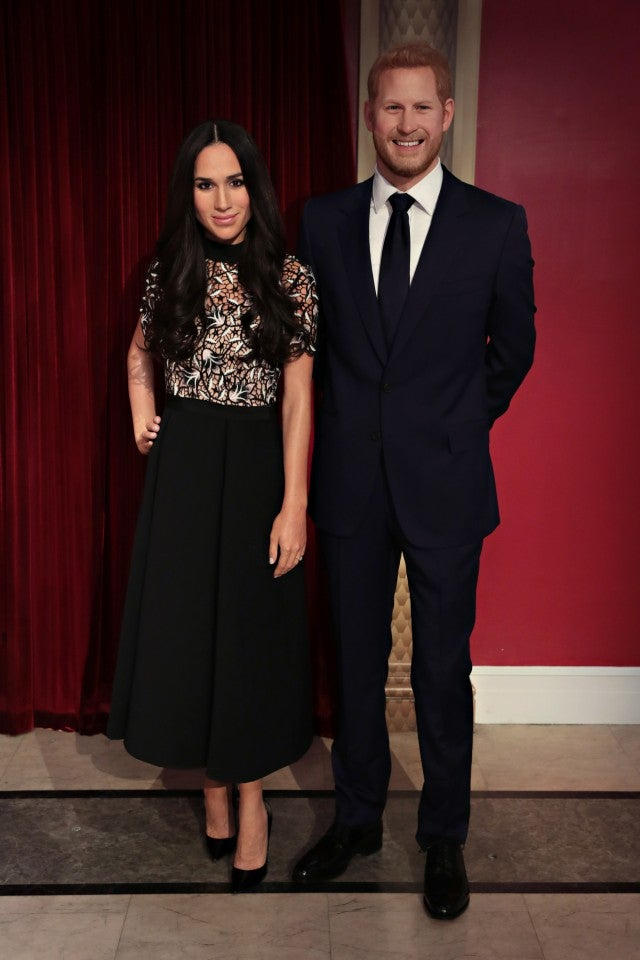Meghan Markle S Wax Figure Unveiled At Madame Tussauds