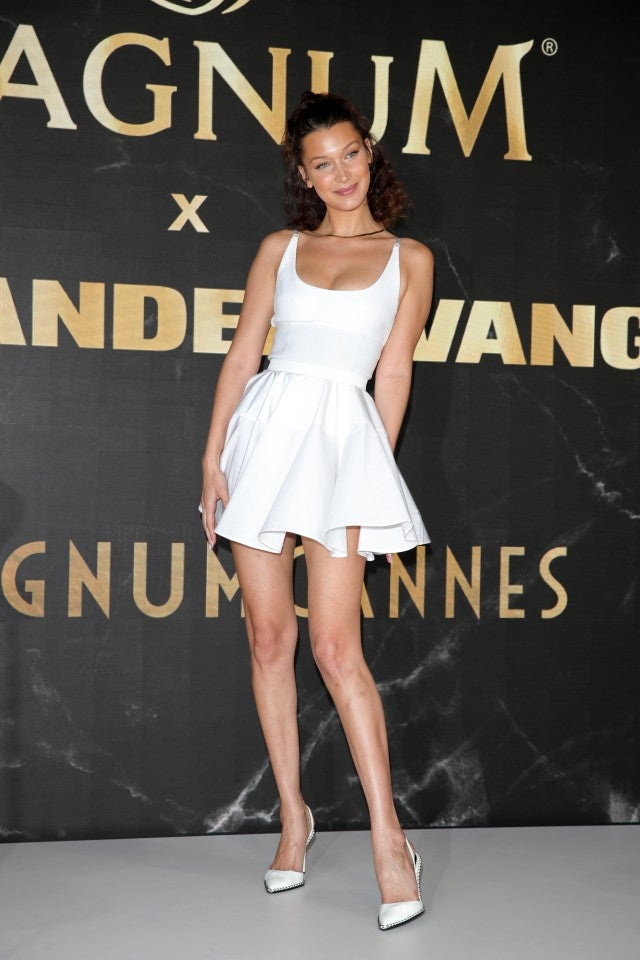 Bella Hadid at Magnum photocall