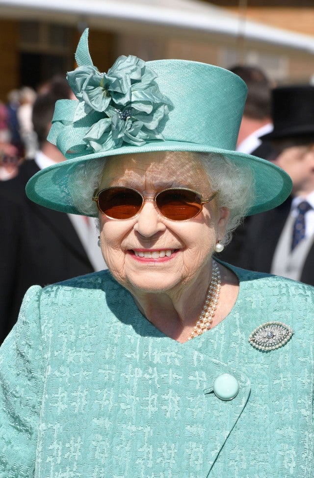 Queen Elizabeth II at Garden Party