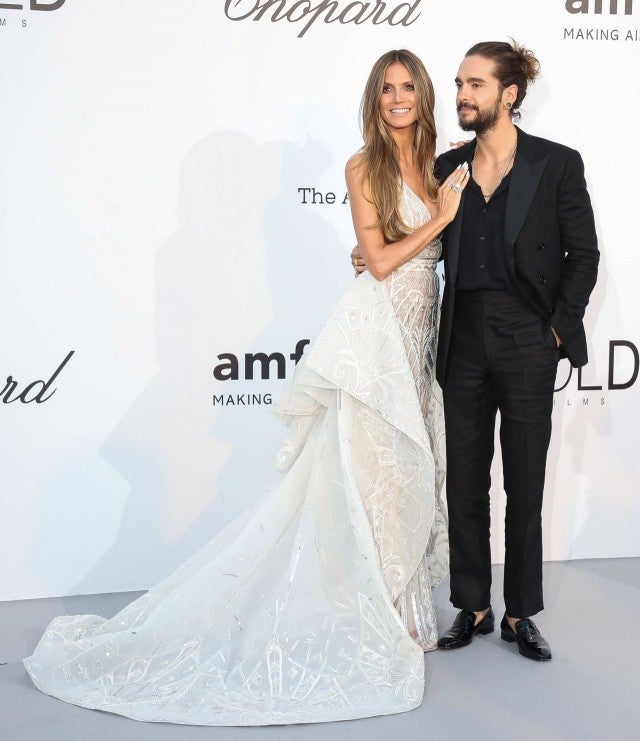 Heidi Klum and Tom Kaulitz at Cannes