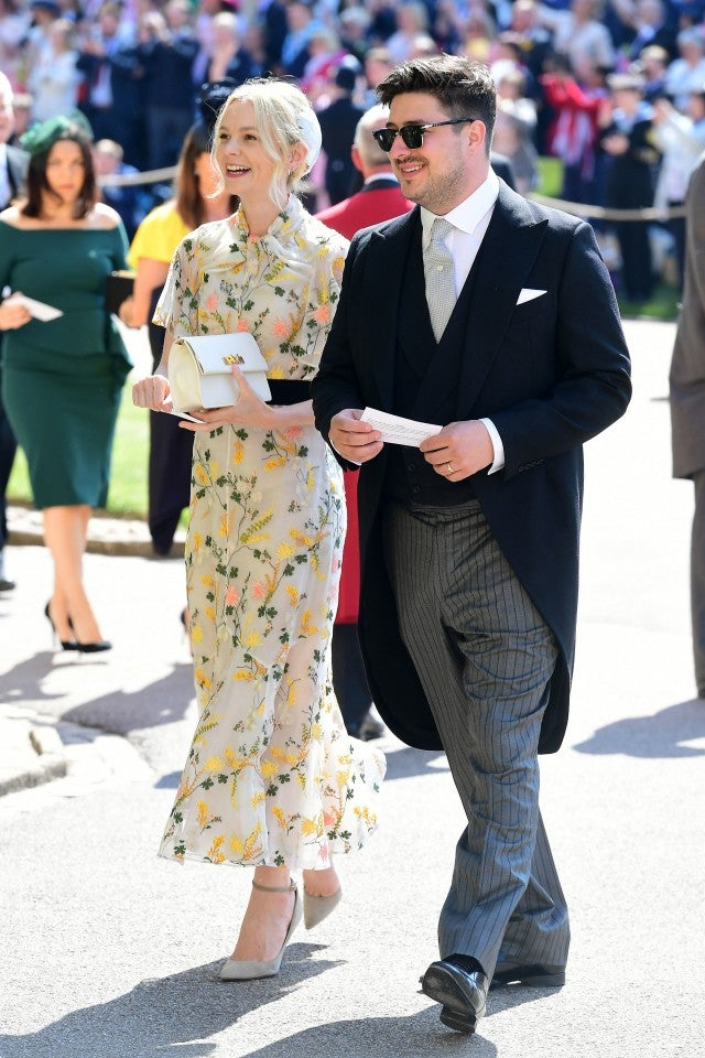 Carey Mulligan and Marcus Mumford at royal wedding