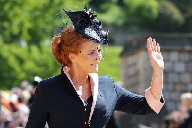 sarah ferguson at royal wedding