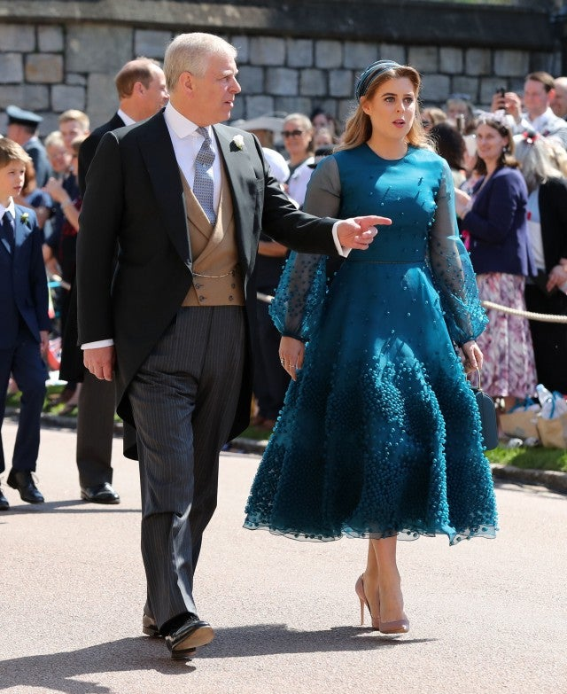 Prince Andrew, Duke of York and Princess Beatrice