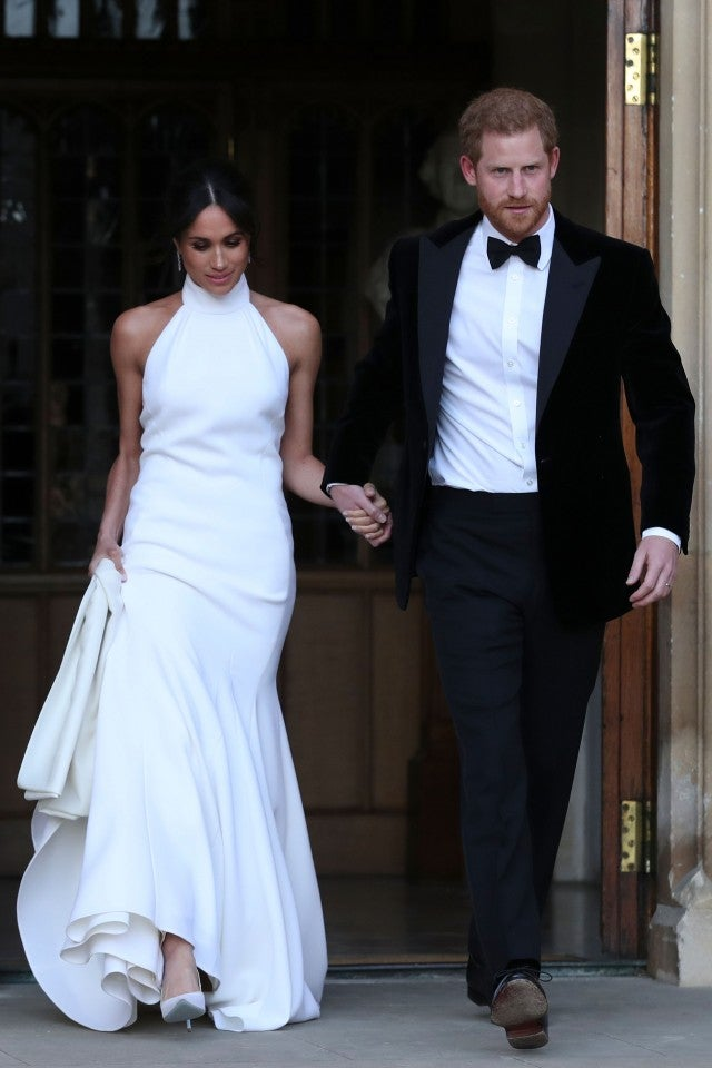Prince Harry Meghan Markle after wedding