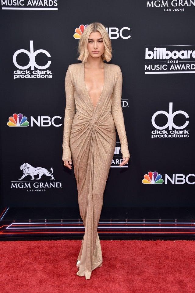 Hailey Baldwin at billboard music awards