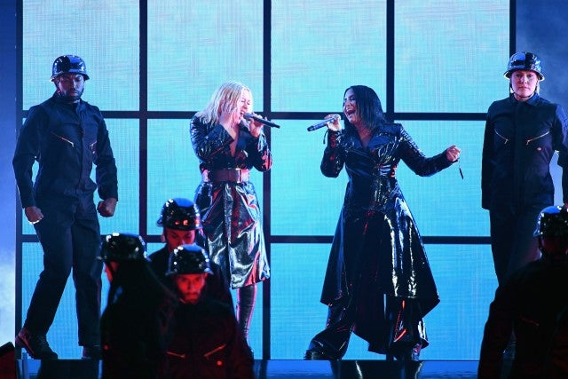 Christina Aguilera and Demi Lovato Perform at 2018 Billboard Music Awards