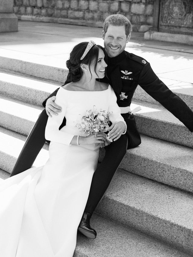 Meghan Markle Prince Harry official wedding photo