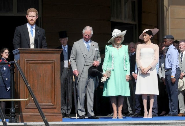 Prince Harry speech at Buckingham Palace