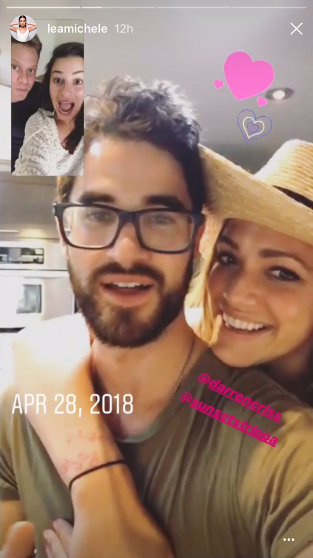 Lea Michele Shares Emma Roberts And Darren Criss Reactions To Her