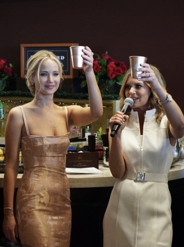 Jennifer Lawrence at Derby Week