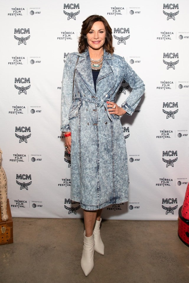Luann de Lesseps at Tribeca Film Festival