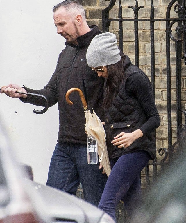 Meghan Markle Leaving Workout Class