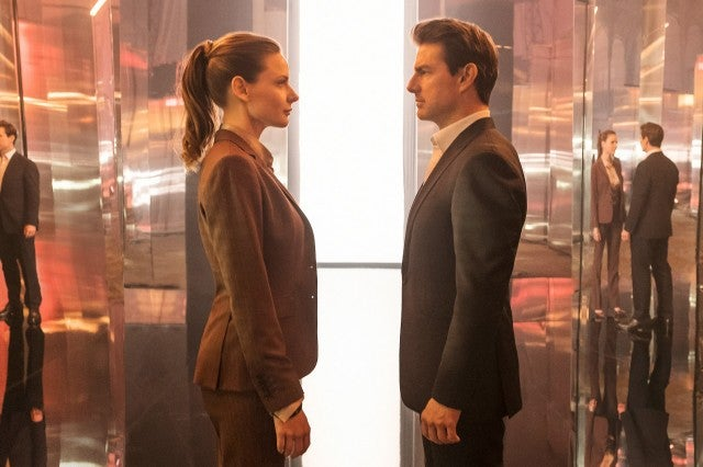 Mission Impossible Fallout, Tom Cruise, Rebecca Ferguson