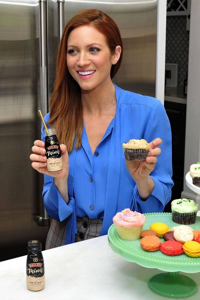 Brittany Snow with Baileys minis