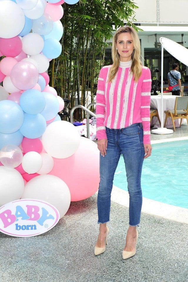 Paris Hilton at baby born event