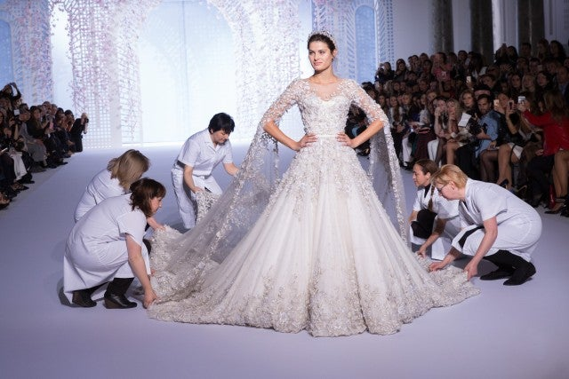 Ralph and Russo Wedding Gown