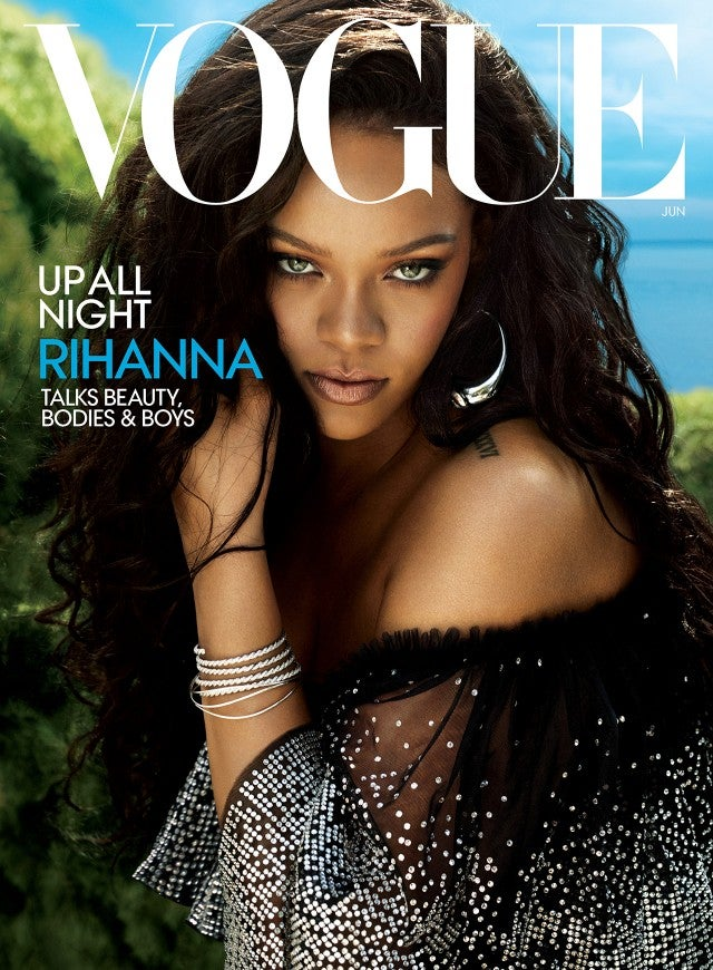 Rihanna's Vogue cover