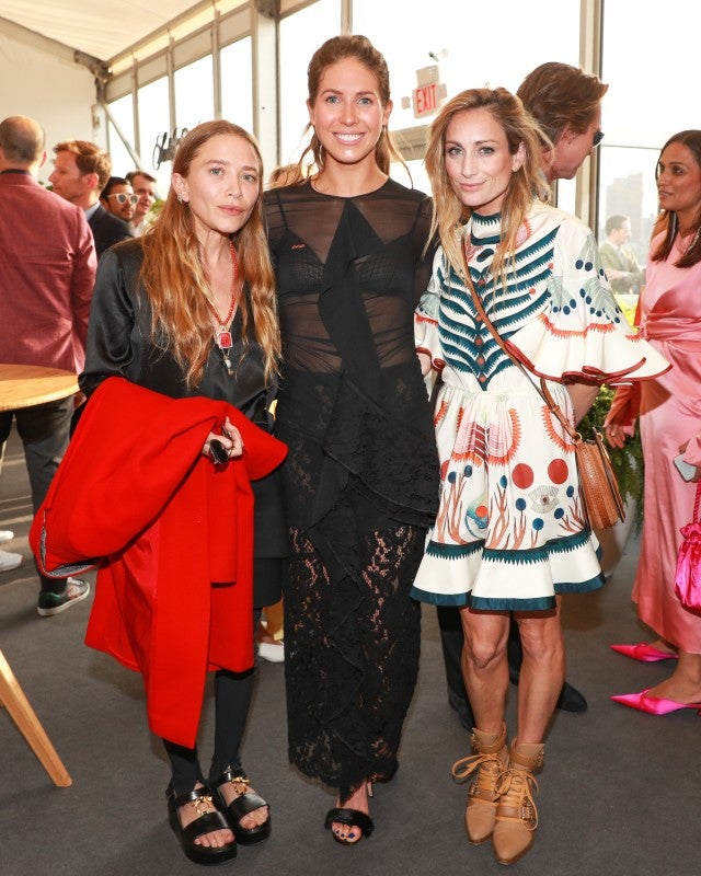 Mary-Kate Olsen at Frieze