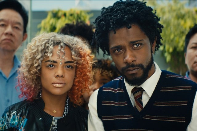 Sorry to Bother You, Lakeith Stanfield, Tessa Thompson