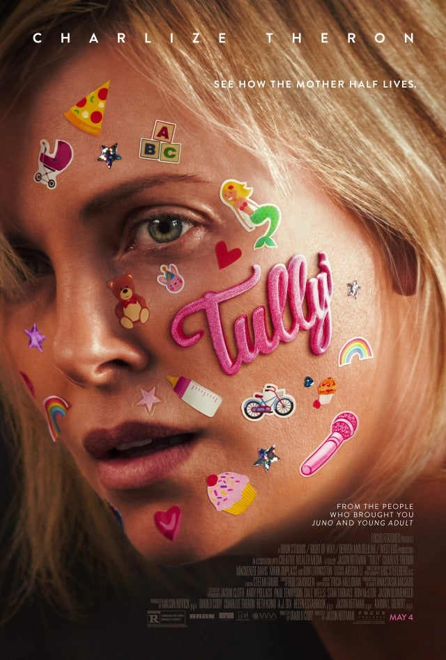 Tully Poster, Charlize Theron