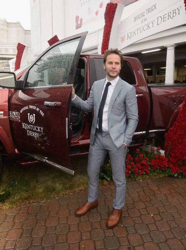 Taylor Kitsch at Kentucky Derby