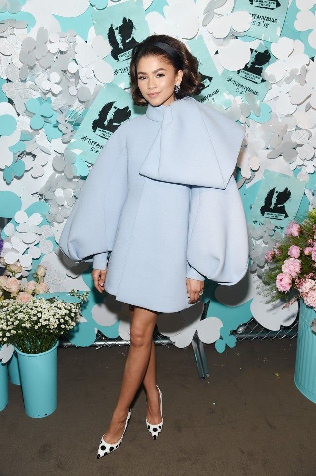 Zendaya at Tiffany Event