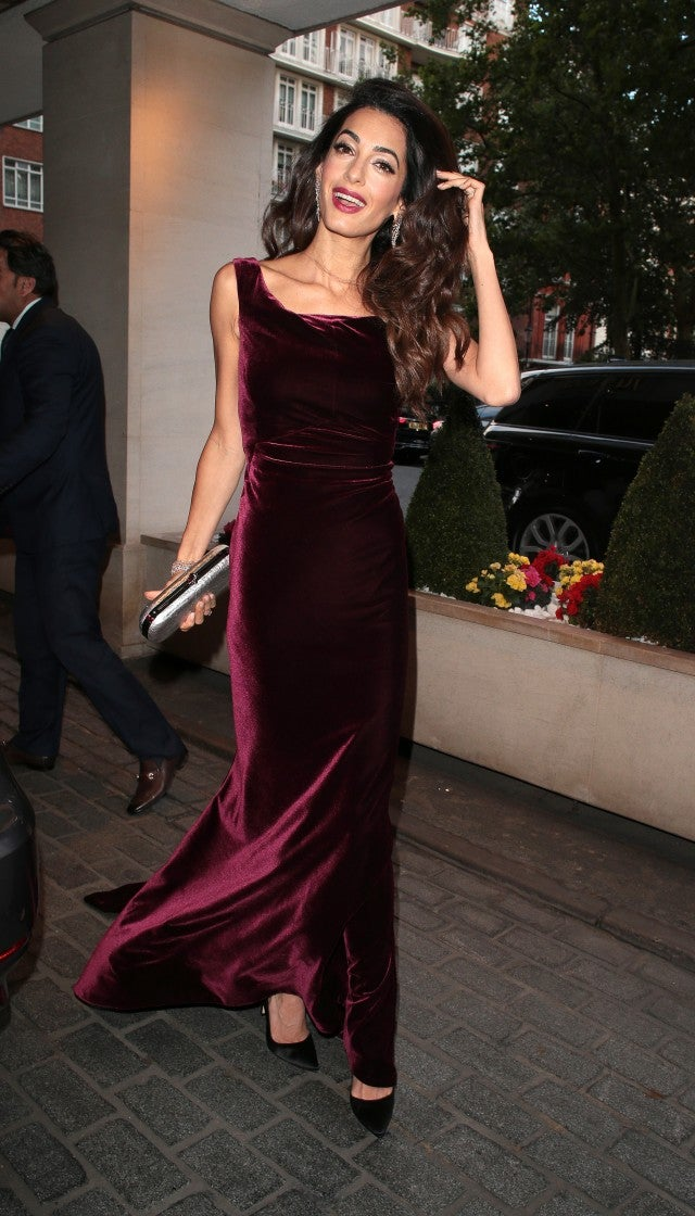 Amal Clooney Is The Epitome Of Elegance At London Gala